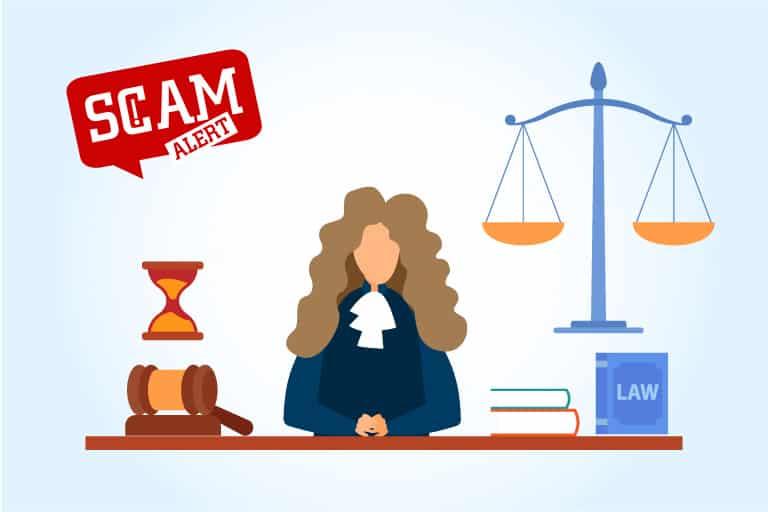 Supreme Court phishing scam