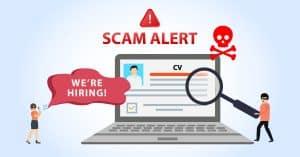 Recruitment Scams, Recruiting Agency